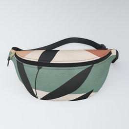 Abstract Art Tropical Leaf 15 Fanny Pack