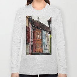 Old Town Street Long Sleeve T-shirt