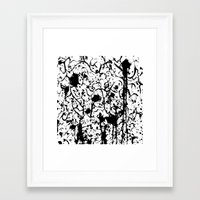 chaos Framed Art Prints featuring Chaos by ZantosDesign