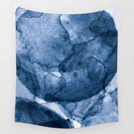Blue Nano Wall Tapestry