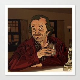 "The Shining - ""I like ya Lloyd.."" Canvas Print"