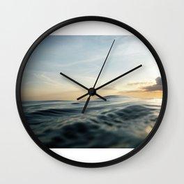 Velvet Sea Wall Clock