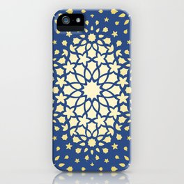 Arabesque Pattern - Golden Hour iPhone Case