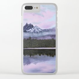 Three-Fingered Jack Looking Over Marion Lake Clear iPhone Case
