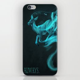 Always: [spectral deer] Alan Rickman tribute iPhone Skin