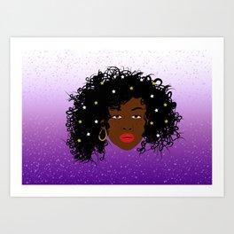 All the Stars Art Print