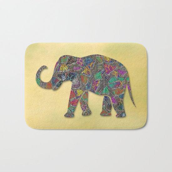 Animal Mosaic - The Elephant Bath Mat