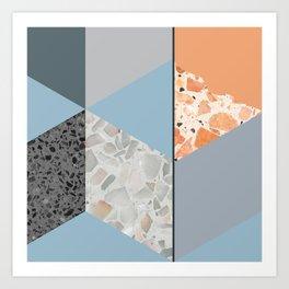 Terazzo Tiles Art Print
