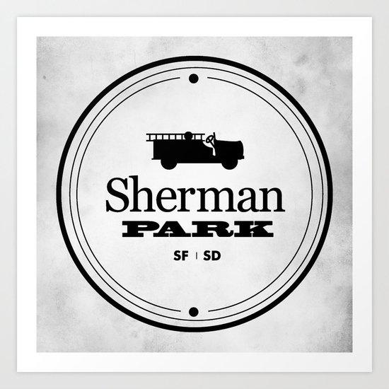 Sherman Park Art Print