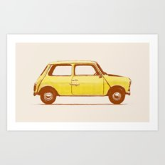 Famous Car #1 - Mini Cooper Art Print