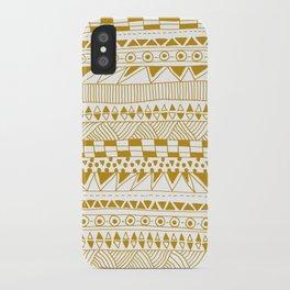 Fun (gold version) iPhone Case