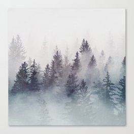 Winter Wonderland - Stormy weather Canvas Print