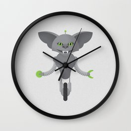 Gremlin / Robot Wall Clock