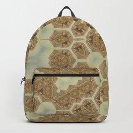 Vintage dry desert landscape Backpack