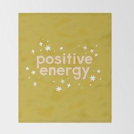 Positive Energy Throw Blanket