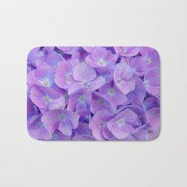Hydrangea lilac Bath Mat