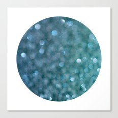 denim sparkle Canvas Print