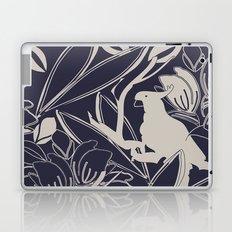 Cockatoo Evening Blue Laptop & iPad Skin