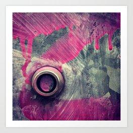 Graffiti Abstraction 2 Art Print