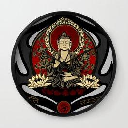 Gautama Buddha Wall Clock