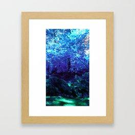 Fern Garden Framed Art Print