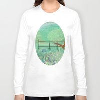 country Long Sleeve T-shirts featuring Country Lane by Alannah Brid