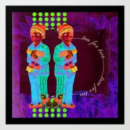 Tea For Two Art Print