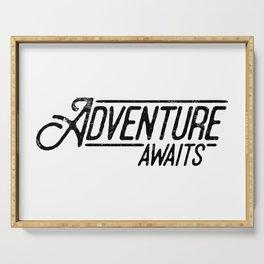 Adventure Awaits Serving Tray