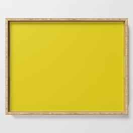 Bright Mustard Solid Serving Tray