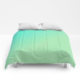 Green Ombre Glitter Look Comforters