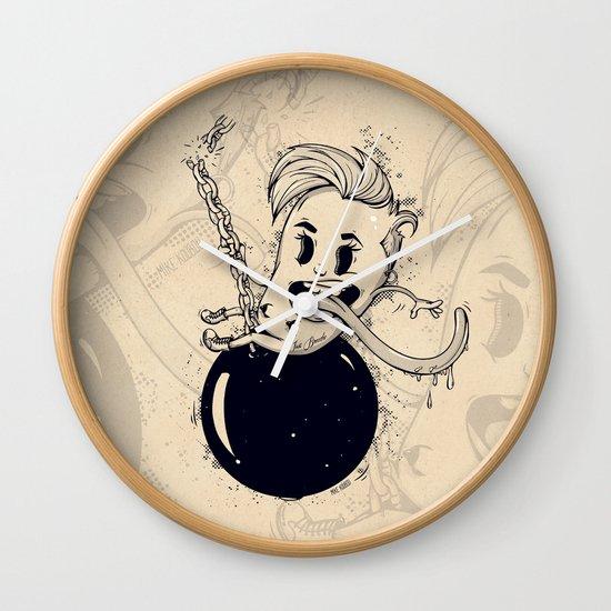 Wrecking Ball Wall Clock