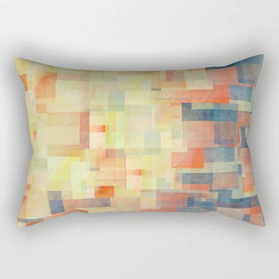 Cubism Dream (Brush Fire Remix) Rectangular Pillow