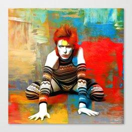 Ziggy Full Colour Canvas Print