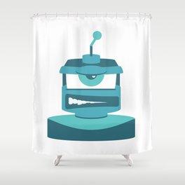 Grrr Bot Shower Curtain