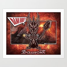 The Sauron concept! Art Print