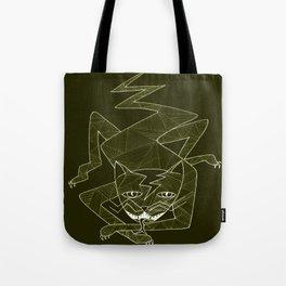 Lizard Cat Tote Bag
