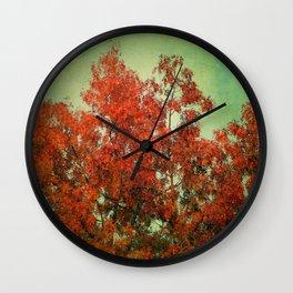 October Finale Wall Clock
