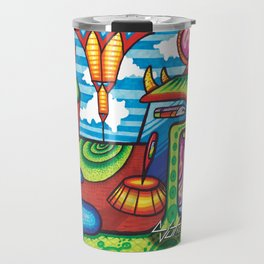 VISIONARY FREESTYLE  #16 Travel Mug