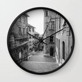 Old Town Geneva Wall Clock