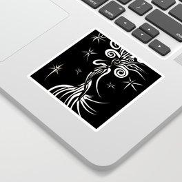 Starlight Dancer Inverted Sticker