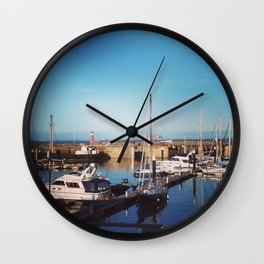 English harbour Wall Clock
