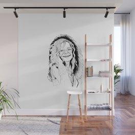 Little Girl Janis Wall Mural