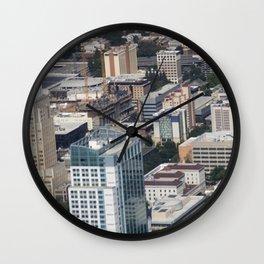Skyscrapers Wall Clock