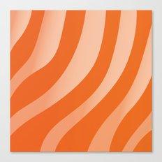 Salmon Sashimi Canvas Print