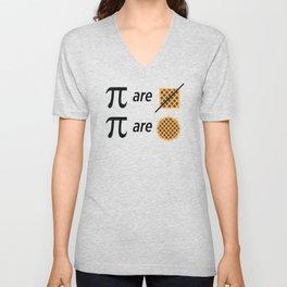 Pi Math Joke Unisex V-Neck