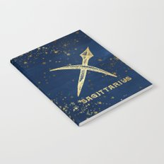 Sagittarius Zodiac Sign Notebook