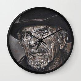 Haggard Outlaw Wall Clock