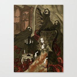 Nightmares of the Alchemist's Wife Canvas Print