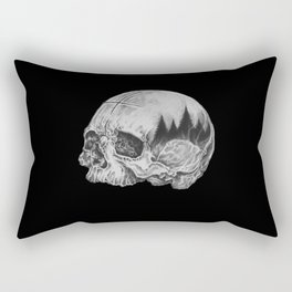 Human/Nature II Rectangular Pillow