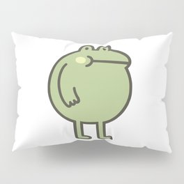 Awesome Frog Pillow Sham